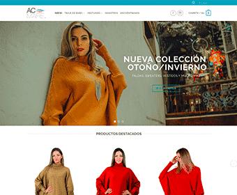 Página Web ACMare