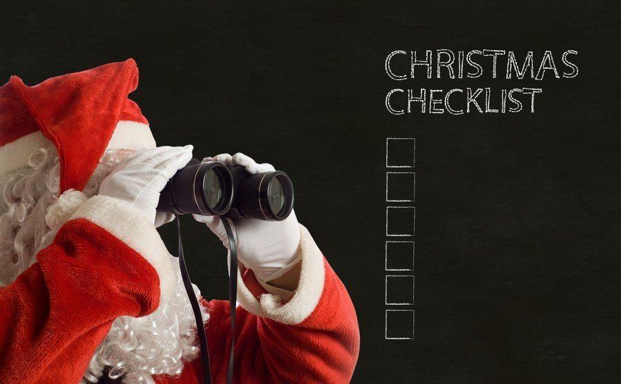Especial de Navidad VI: Check List de Navidad