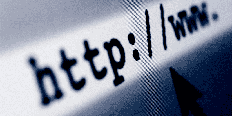 Errores en un sitio web